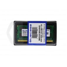 MEMORIA BLUECASE 2GB DDR3-1333 SODIMM BMGSO3D13M15VS9/2G