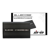 "Case para HD/SSD de 2,5"" com interface USB 2.0"